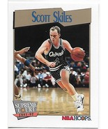 1991-92 Hoops #486 Scott Skiles NM-MT Magic SC - $0.99