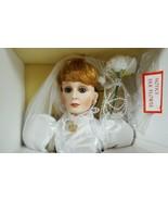 English Bride Porcelain Doll ELISABETH by Moments Treasured CAO Love Hon... - $46.90