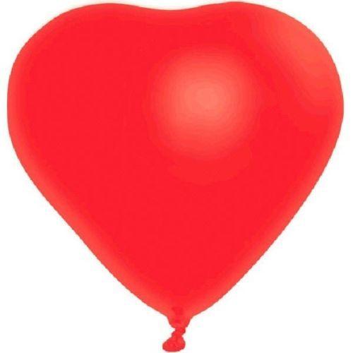 "Red Heart 6 12"" Latex Balloons Valentine's Day Anniversary"