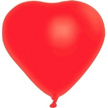 "Red Heart 6 12"" Latex Balloons Valentine's Day Anniversary - $2.84"