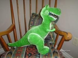 Disney TOY STORY Rex Dinosaur 16 inch LARGE Plu... - $142.50