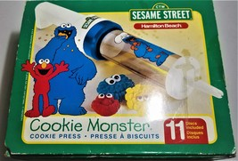 Sesame Street Cookie Monster Cookie Press  Hamilton Beach - $19.00