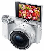 Samsung NX500 28 MP Wireless Smart Mirrorless Digital Camera 16-50mm Pow... - $2,495.43