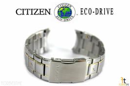 Citizen Eco-Drive Original AT8014-57E Deux Nuances Acier Inoxydable Bracelet de - $152.10