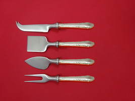 Enchantress by International Sterling Cheese Serving Set 4 Piece HHWS  Custom - $289.00