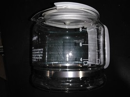 "7LLL88 BLACK & DECKER 10 CUP COFFEEPOT, 8"" X 6"" X 5-3/4"" +/- OVERALL, VE... - $22.54"