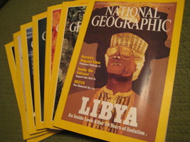 Original Vintage 2000 Lot of 7 NATIONAL GEOGRAPHIC Magazines - $14.43