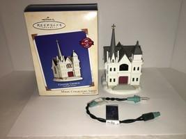 Hallmark Keepsake Ornament Country Church #5 In Series Light 2002 - $6.25