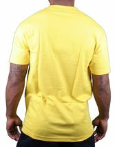 Famous Stars & Straps Mens Yellow Heavy Weight Red BOH T-Shirt Small NWT image 3