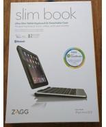 ZAGG Slim Book Case, Detachable Backlit Keyboard for iPad  iPad mini 2/3 - $28.04