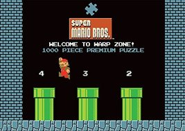 USAOPOLY Super Mario Bros. World 1-2 Welcome to Warp Zone! Puzzle - $32.62