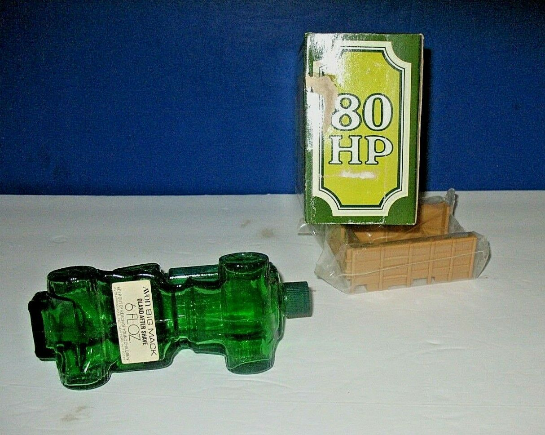 Empty Avon Big Mac 80 HP Truck Oland After Shave 6 Fl. Oz Bottle.W/ Original Box