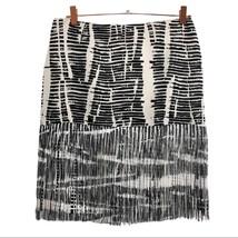Per Se Womans 6 Fringe Silk Skirt - $14.23