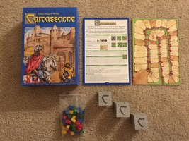 Carcassonne Original Starter Set Board Game Rio Grande Games COMPLETE - $19.99