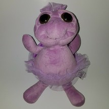 "Unipak 12"" Big Eyes Purple Turtle Plush Stuffed Animal Toy Lovey - $19.75"