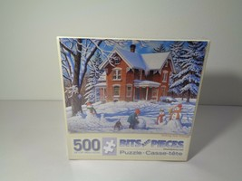 BITS AND PIECES New 500 Piece Puzzle Making New Friends Artist John Sloane - $48.51