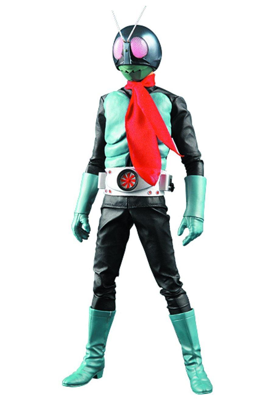 Medicom Masked Rider No. 1 Deluxe Version 3.0 Real Heroes Action Figure