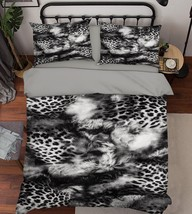 3D Leopard Print 26 Bed Pillowcases Quilt Duvet Single Queen King US Summer - $102.84+