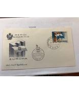 San Marino FDC Europa 1963  - $3.50