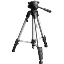 "Digipower® 3-Way Pan Head Tripod With Quick Release & Extended Height: 62"" - $36.99"