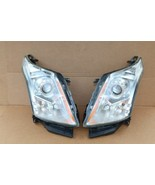 2010-15 Cadillac SRX Halogen Headlight Head Light Set LH & RH - POLISHED - $314.96