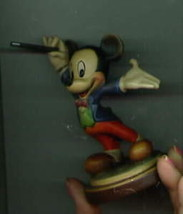 Disney Mistro Mickey Woodcarving Anri made in Italy - $249.00