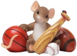 Enesco Charming Tails You're An All Around Good Spor Figurine, 2.5-Inch - $27.50