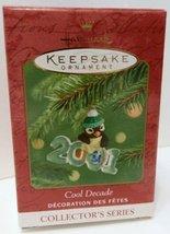 Hallmark Cool Decade 2001 Keepsake Christmas Ornament Collector's Series New wit - $16.83