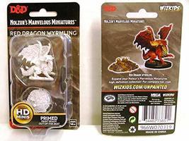 Nolzur's Marvelous Miniatures Wizkids - D&D Red Dragon Wyrmling WZK73852 - $8.99