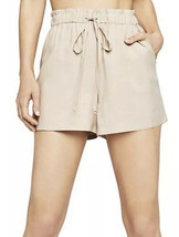BCBGENERATION Paperbag Shorts Tan Size S Small NWT $68 - $39.99