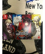Nintendo Switch BLAZBLUE CROSS TAG BATTLE Limited Box Video Game From Japan - $53.45