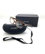 DOLCE GABBANA D&G 1232 2550 Eyeglasses Frame Glasses Marbled Brown 53-16... - $67.87