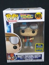 Funko Pop! Movies Back to The Future Marty Checking Watch 965 - $21.77