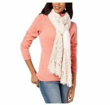 INC International Concepts Mixed Yarns Colorblocked Fringe Scarf Wrap, W... - $16.83