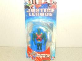 Mattel Action Figurine Justiciers League-Martian Manhunter Neuf- Jd - $4.10