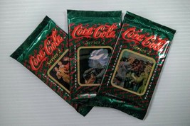Coca-Cola Collector Cards 3 Pack (Series 2) - FREE SHIPPING - $8.90