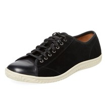 John Star Top Sneaker Suede Black NIB Men's Varvatos USA Hattan Low Leather rYZ5qrwA