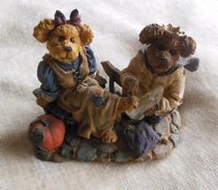 Boyd's Bears Cindyrella & Prince Charming…If the Shoe Fits-Bearstone #2454 - $38.50