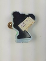 Vintage Hallmark Christmas Magnet Mouse w/ Santa Hat Holding Bell image 2
