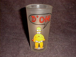 tall  glass simpsons homer Doh  down pace novelty drinking - $29.27