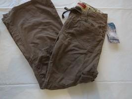 Jugend Mädchen UNIONBAY 7 R Regular Leicht Hose Jeans Braune Cargo Weich... - $18.69