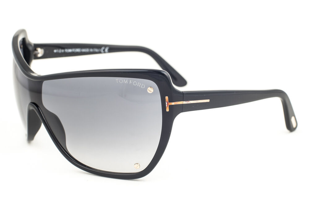 Primary image for Tom Ford Ekaterina Black / Gray Gradient Sunglasses TF363 01B