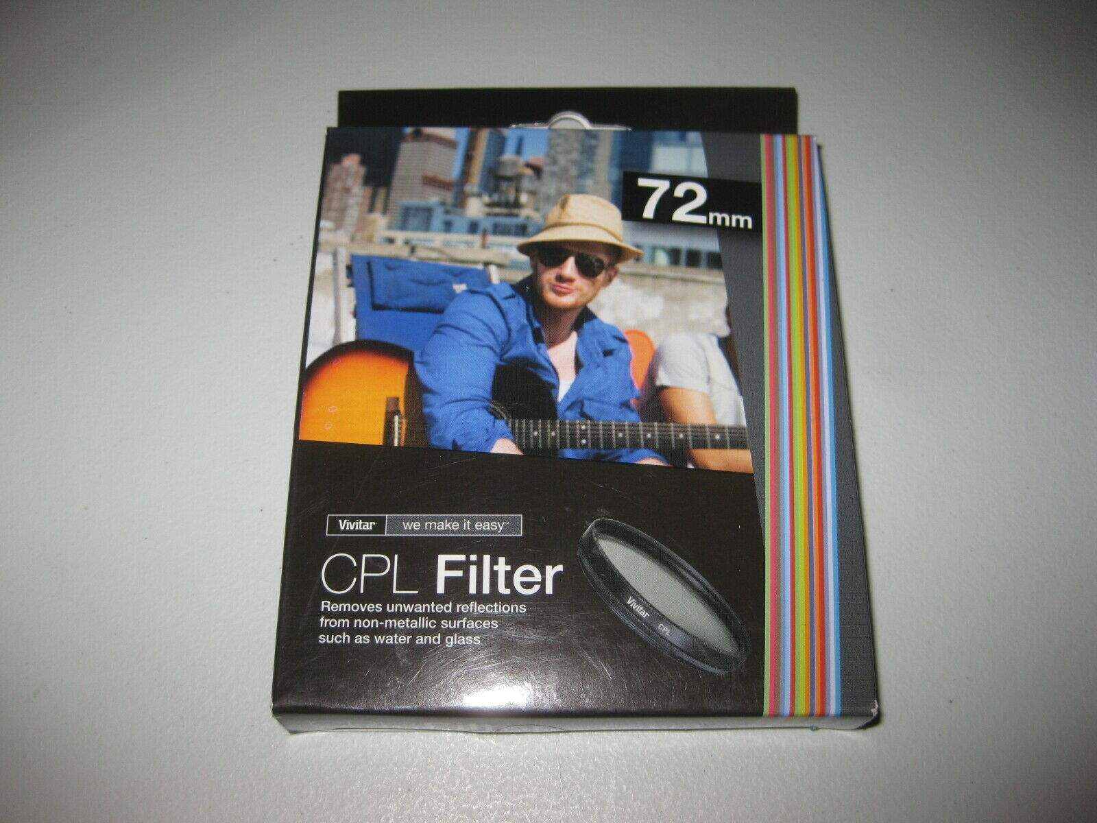 Primary image for Vivitar 72mm C-PL Circular Polarizer Glass Filter 72 BRAND NEW