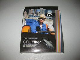 Vivitar 72mm C-PL Circular Polarizer Glass Filter 72 BRAND NEW - $10.29