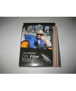 Vivitar 72mm C-PL Circular Polarizer Glass Filter 72 BRAND NEW - $10.29