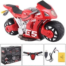 Costzon 1/8 Scale 2.4G 4D R/C Simulation Remote Control Drift Motorcycle... - $65.57