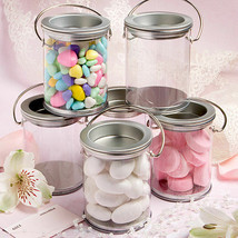 12 Mini Paint Can Mint Tins Wedding Candy Container Party Favors - $15.86
