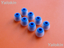 NEW 8pcs (CL-BL) Small Replacement Adapter Ear-tips Set for Jaybird Freedom F5 - $11.85