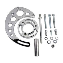 A-Team Performance Aluminum Alternator Bracket Kit Long Water Pump Compatible wi image 2