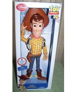 """Disney Collection TOY STORY 4 WOODY Talking Action Figure 15""""H New - $26.88"""